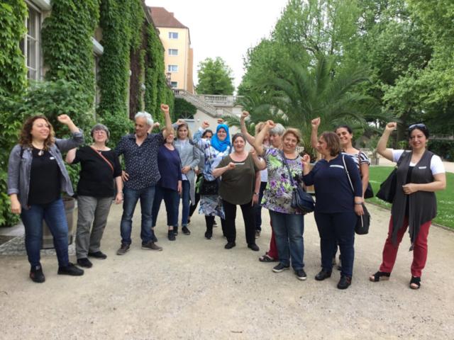 Workshop Baumprojekt Teilnehmer