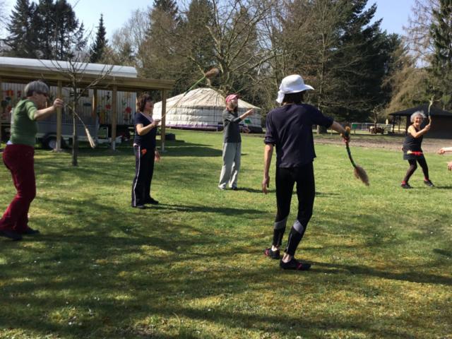 Workshop Naturkunst und Tanz