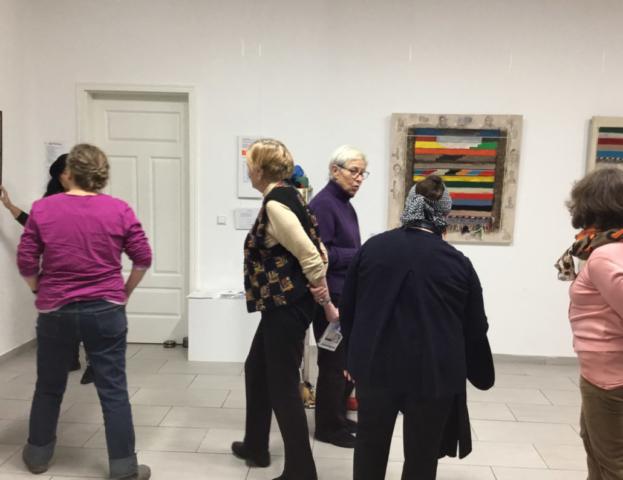 Workshop Kiezköniginnen Ausstellungsbesuch
