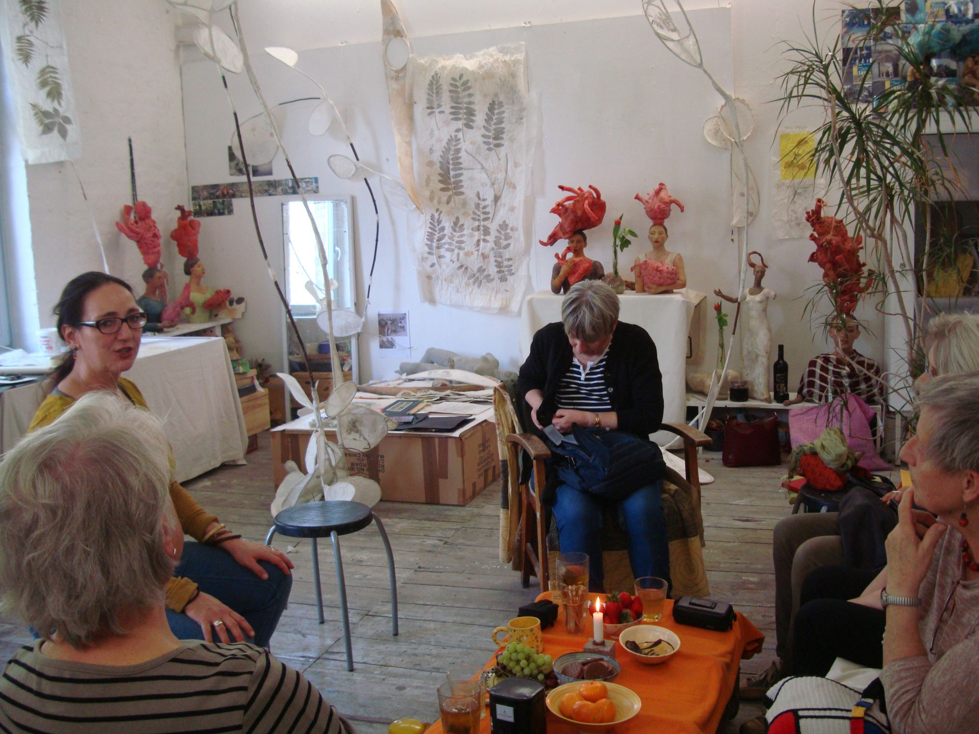 Atelierbesuch bei Ulrike Markert