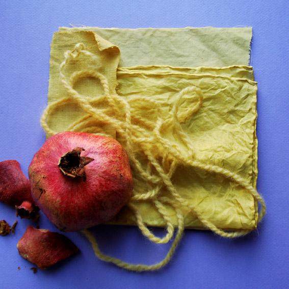 3. fruehling schönfärberei Granatapfel-Alaun