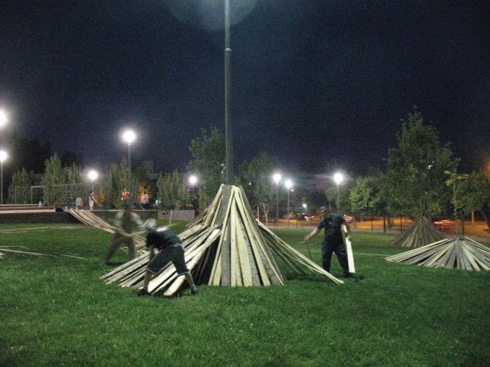 kardo kosta kollektivinstallation Argentina 2011